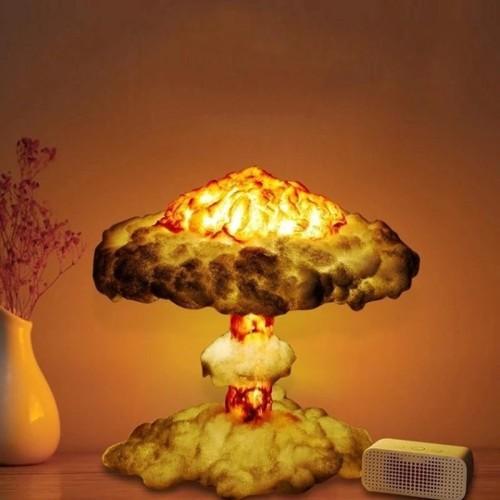 3D Cloud  Explosion  Lamp