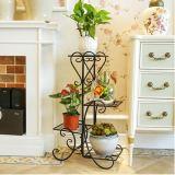 4 Tier Metal Shelves,  Indoor Outdoor Garden Display