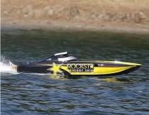 Brushless 27″ RC Catamaran Racing Boat V792-4