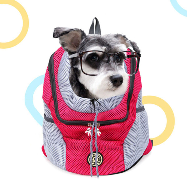 Pet Backpack Go Out Portable Travel Breathable Dog Backpack
