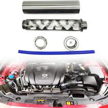 For Napa 4003 Wix 24003 - 1/2-28 5/8-24 Fuel Filter Aluminum Solvent Trap