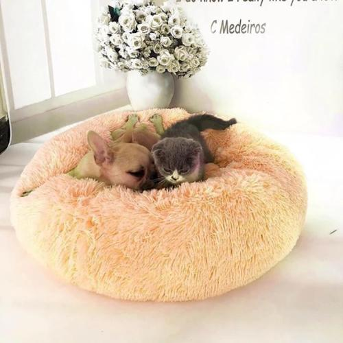 Calming High Stretch Soft Pet Dog Bed Cat Bed Cave House