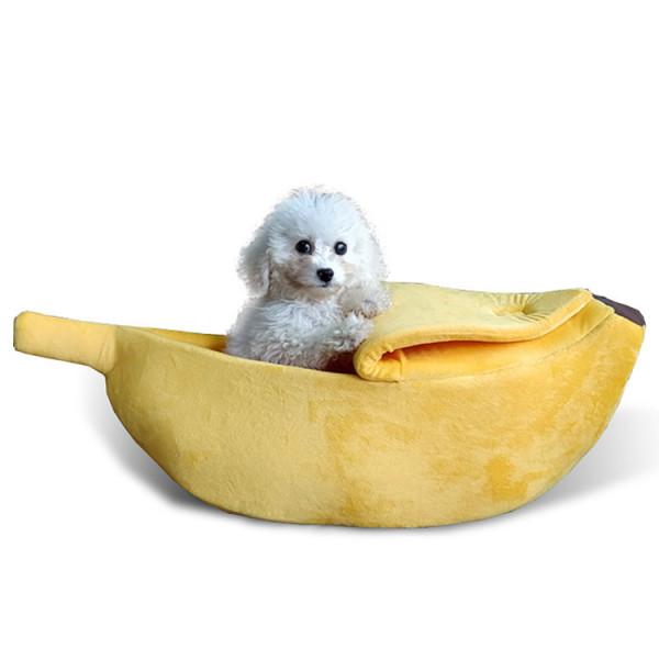 Creative Banana Shape Pet Nest
