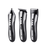 TrendsScape™ All in 1 Rechargeable Waterproof Wireless Hair, Beard, Nose & Ear Trimmer for Men