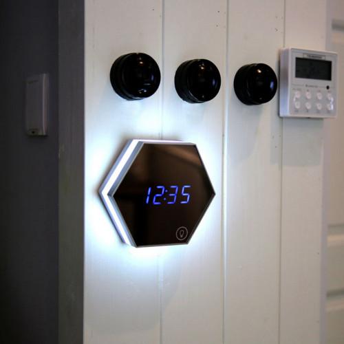 Multi-functional Alarm Clock -  a Mirror Alarm and a Night Light!