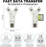 4 in 1 SD Card Reader Memory Card Adapter