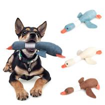 Cartoon Wild Goose Plush Dog Toys