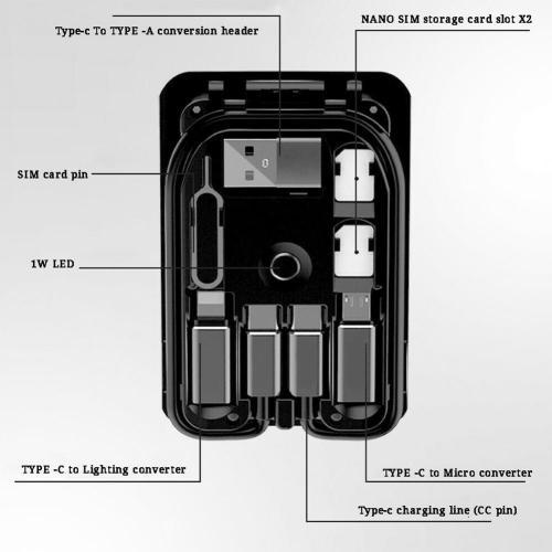 UrbzSurvival Multi-function Universal Smart Adaptor Card