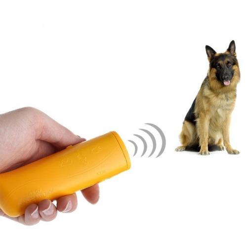 Ultrasonic 3-in-1 Dog Anti-Barking Training Device