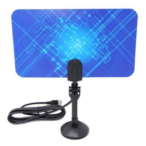 Ultrathin Digital HDTV Indoor TV Antenna Receiver