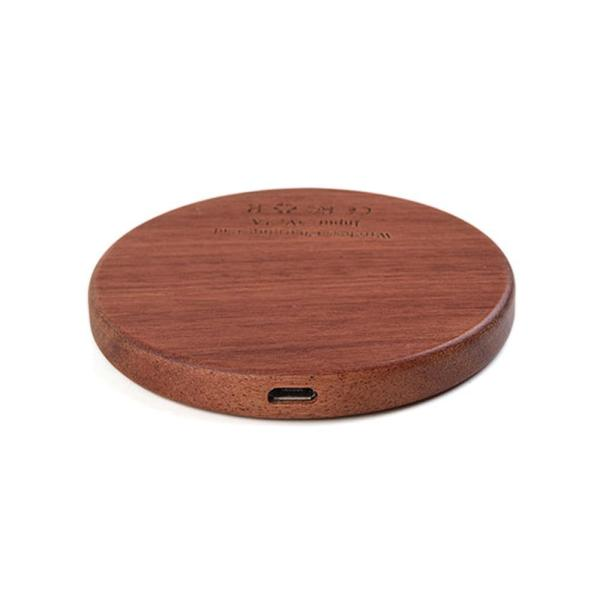 KEYSION Wood Wireless Charger Charging Pad