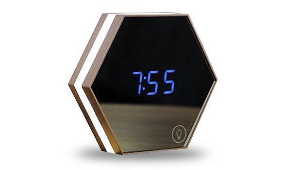 Multi-function LED Digital Alarm & Temperature Mirror