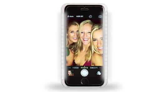 iPhone Selfie LED Flash Light Case