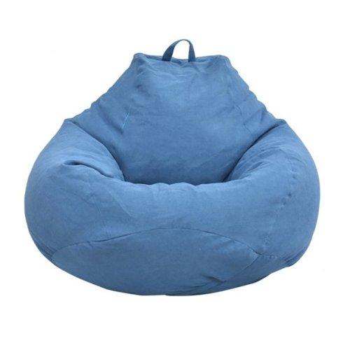 Large Bean Bag Sofa Cover Lounger Chair