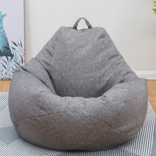 Large Bean Bag Sofa Cover Lounger Chair