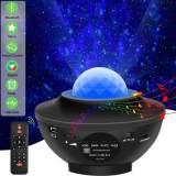 3 in 1 Galaxy Projector Starry Sky Projector Star Light Lamp
