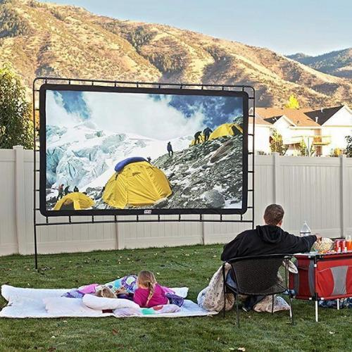 Portable Outdoor Movie Projector Screen