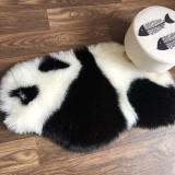 Panda Printed Rug  Panda Carpet Non Slip Mat 94x100CM Animal print Carpet