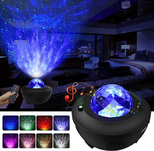 3 in 1 Galaxy Projector Starry Sky Projector Star Light Lamp