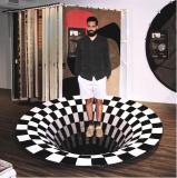 3D Vortex Illusion Rug 3D Illusion Carpet