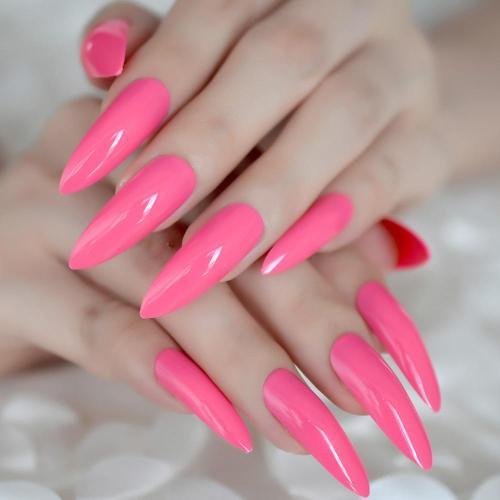 Extra Long Stiletto Nail Tips Press On Nails