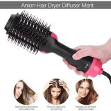 2-in-1 Hair Dryer Styler Straightening Brush
