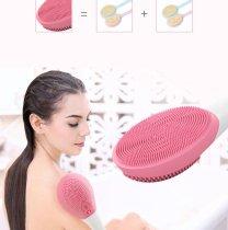 Electric Sonic Vibration Massage Brush