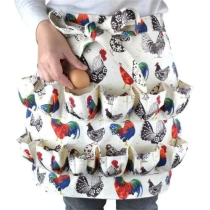12 POCKETS EGG COLLECTING APRON