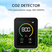CO2 Meter Detector Sensor Gas Concentration Air Quality Meters 400-5000PPM
