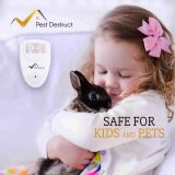 Ultrasonic Bed Bug Repeller – 100% SAFE for Children and Pets – Quickly Eliminate Pests