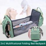 2-in-1 Portable Baby Expanding Diaper Bed Backpack