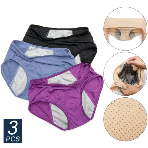 3pcs/Set Menstrual Panties