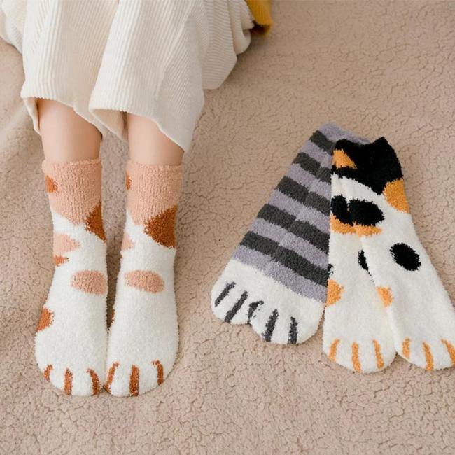 Cute Cat Claw Socks