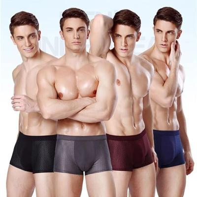 8Pcs/Set Plus Size Boxer Men panties