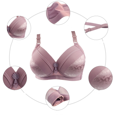 2020 New Oversized Underwear Bra without Steel Ring
