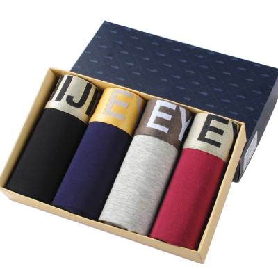 4 pcs/lot Men's Underwear Modal Boxers