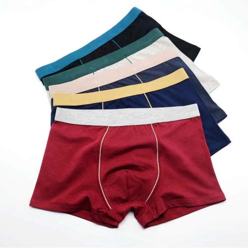 4pcs/9XL Plus Size Cotton Underware Male Boxer