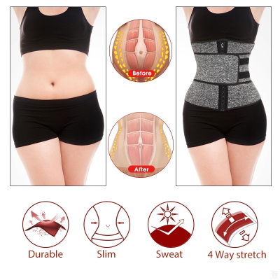 Double Belts Waist Trainer Corset Sweat Out (Buy one get one free)