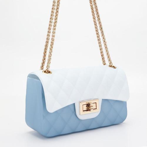 Fashion Color Chain Shoulder Bag