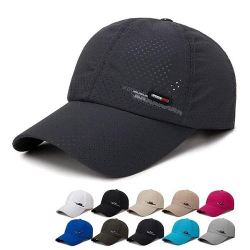 Summer Breathable Adjustable Mesh Hat Outdoor Sports Cap