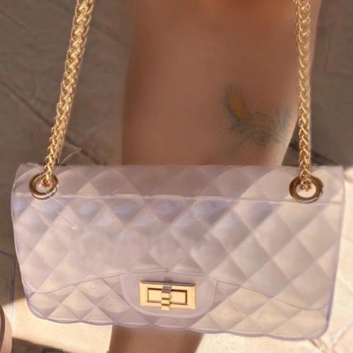 Fashion Clear Chain Shoulder Bag