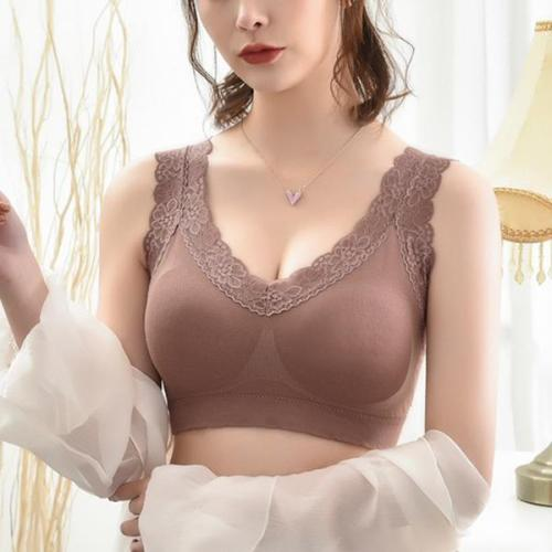 LACE BRA WITHOUT STEEL RING SEXY BRA