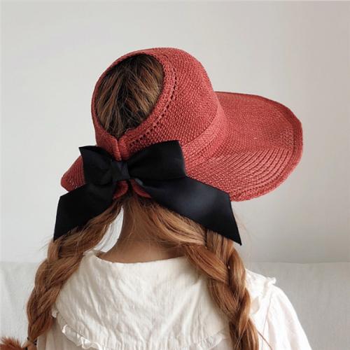 Women's Bow Straw Straw Hat