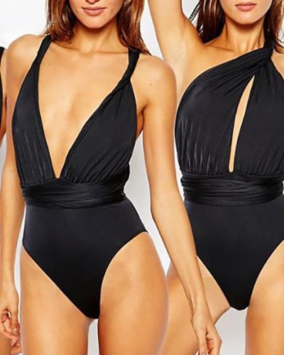 Sexy Multiway One Piece Swimsuit Bathing Suit