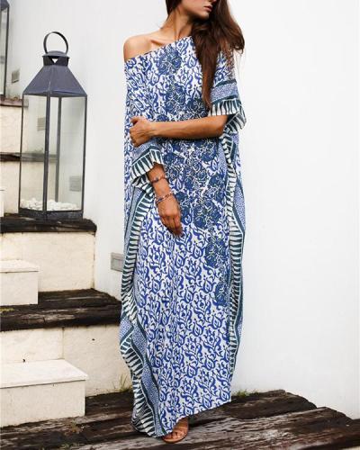 Long Robe Holiday Dress Loose Sun Protection Cover Ups