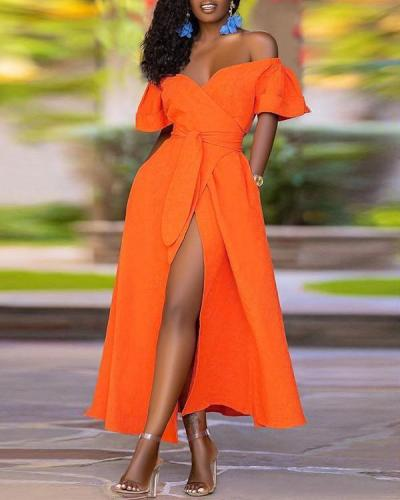 Plus Size Sexy Elegant Maxi Dress