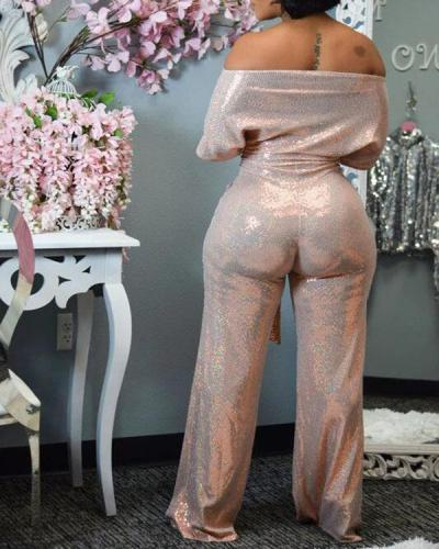 New Fashion Sexy Bling Jumpsuit