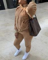 Fuzzy Hoodie & Pants Set