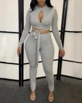 Fashion Casual Hollow Sexy Long Sleeve Suit