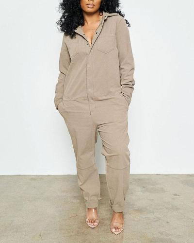 Workwear Overalls Trousers Cotton Jumpsuit
